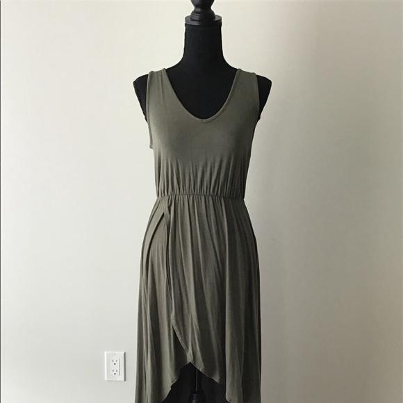 Dresses & Skirts - Green Hi Low Maxi Dress